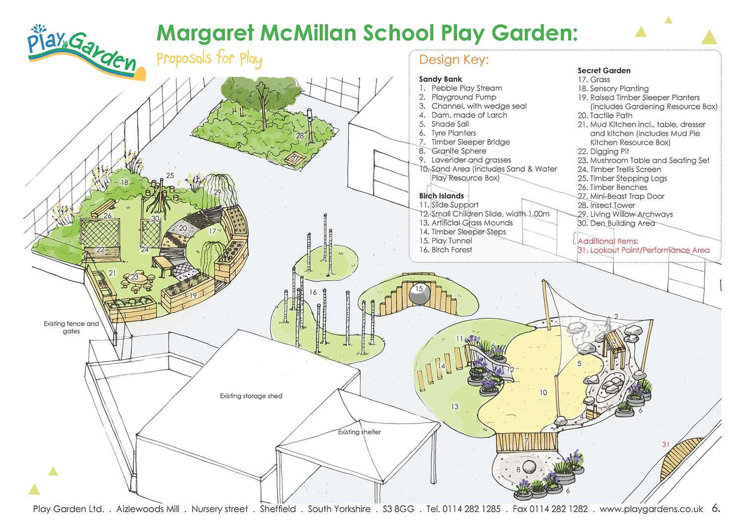 Specialist Landscape Design for Schools and Nurseries - Playgarden