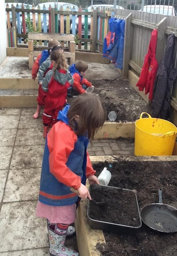 Mud Digging Pit