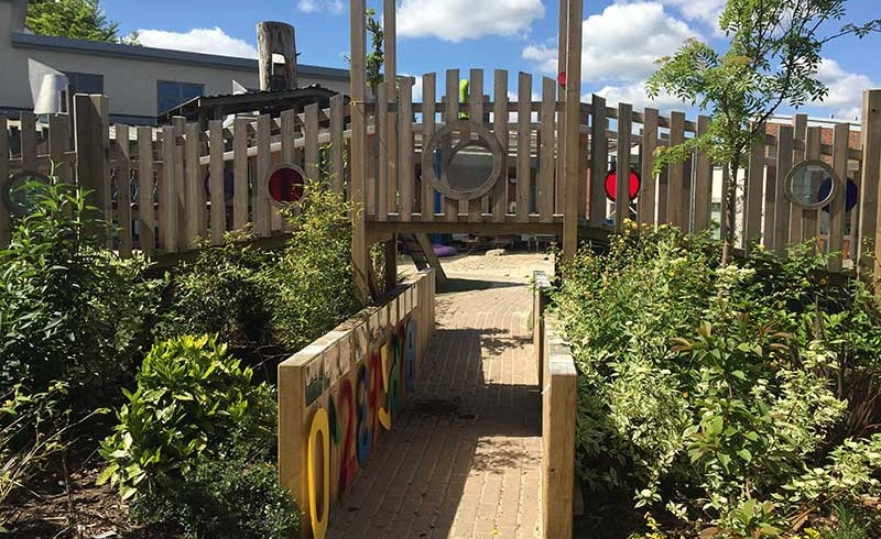Nursery Looks To The Landscape For EYFS Outdoor Play