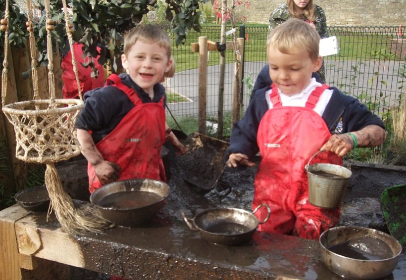 Welcome to the Mud Café… Where DIRT is the dish of the day!