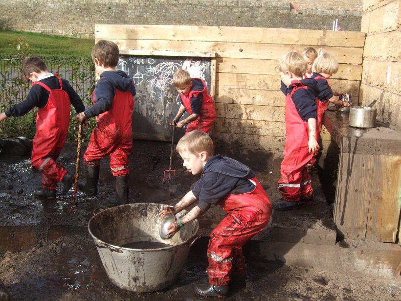 What makes a good play garden?
