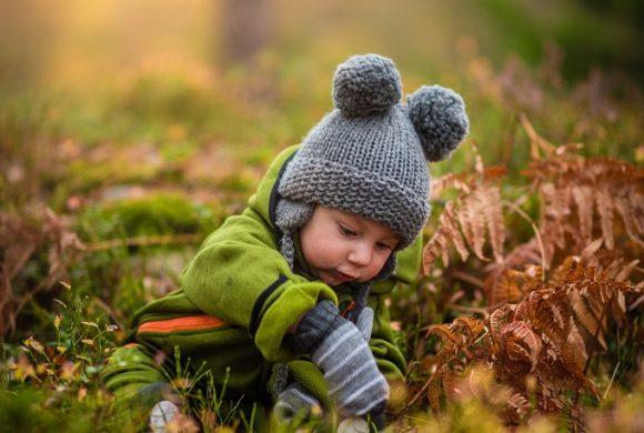 Babies thrive in an outdoor world
